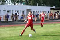 OPORA. Zkušený defenzivní fotbalista Jan Plašil je základním stavebním kamenem týnišťské sestavy.
