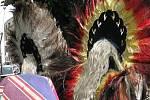 Indiáni z jihoamerického Peru a Bolívie vystoupili na Starém náměstí v Rychnově nad Kněžnou.