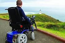 Cesta po Japonsku na invalidním vozíku.