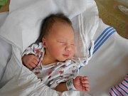 Nela Novotná přišla na svět 17. prosince 2018 v 18.43 s váhou 2 490 g manželům Simoně a Davidovi Novotným z Uhřínovic. Tatínek to u porodu zvládl náramně.
