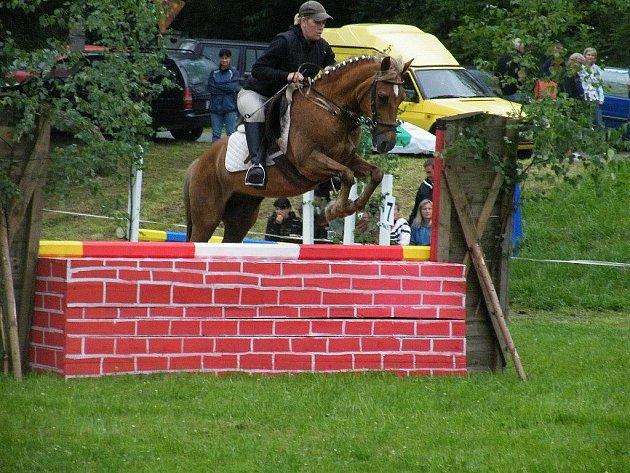 V Javornici se konaly hobby závody v minimilitary pro koně a jezdce všech kategorií.