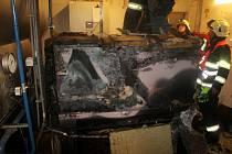 Požár v kotelně rychnovské Studánky.