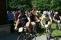 Cyklistický Dobrušský pohár - Memoriál Martina Hockého - závod XC MTB Kounov - Libra jízdní kola.