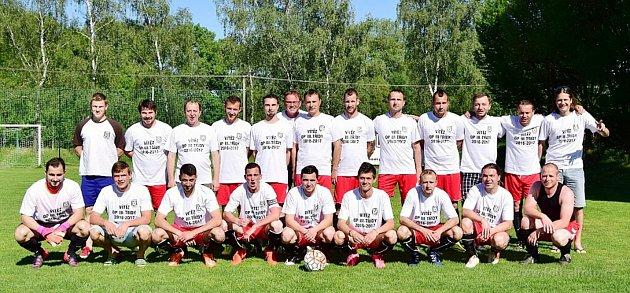Vítězný tým - fotbalový okresní přebor III. třídy vyhrál B tým Doudleb nad Orlicí.