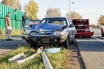 Fotografie z nehody u Týniště pořídil fotograf Deníku Lukáš Müller.