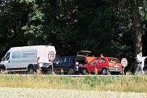 Tři auta se srazila u Lípy nad Orlicí.