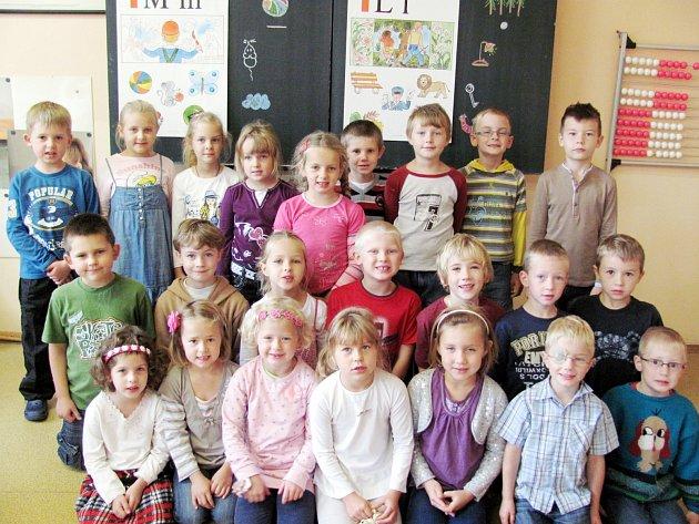 Školáci z 1. A Základní školy v Opočně