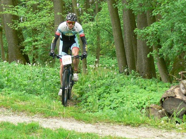 Nejrychleji zvládl  čtyři okruhy Lukáš Čáp z HSK Cycling Teamu.