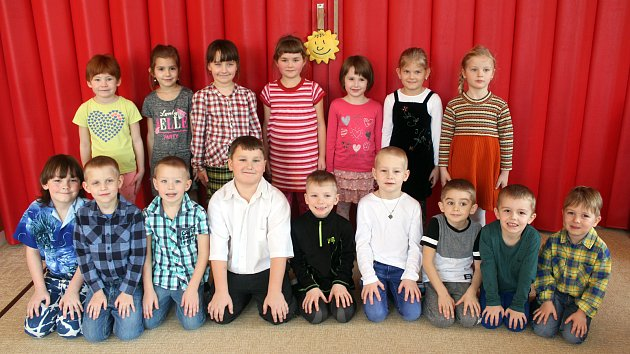 Mateřská škola Solnice - 1.třída.