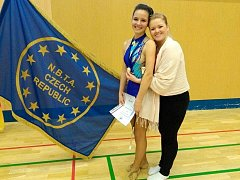 Na cenné medaile dosáhly Mažoretky Colloredo během republikových soutěžích v twirlingu