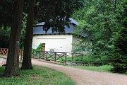 Ze zámeckého parku v Opočně.