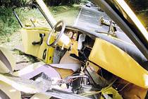 Jeden smyk a z obyčejného předjíždění se stala nehoda, v níž nakonec skončila tři vozidla. Silnice mezi Vamberkem a Rybnou na Zdobnicí je kolizemi i s tragickými následky pověstná.