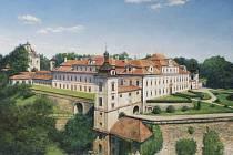 Kolowratský zámek v Rychnově nad Kněžnou.