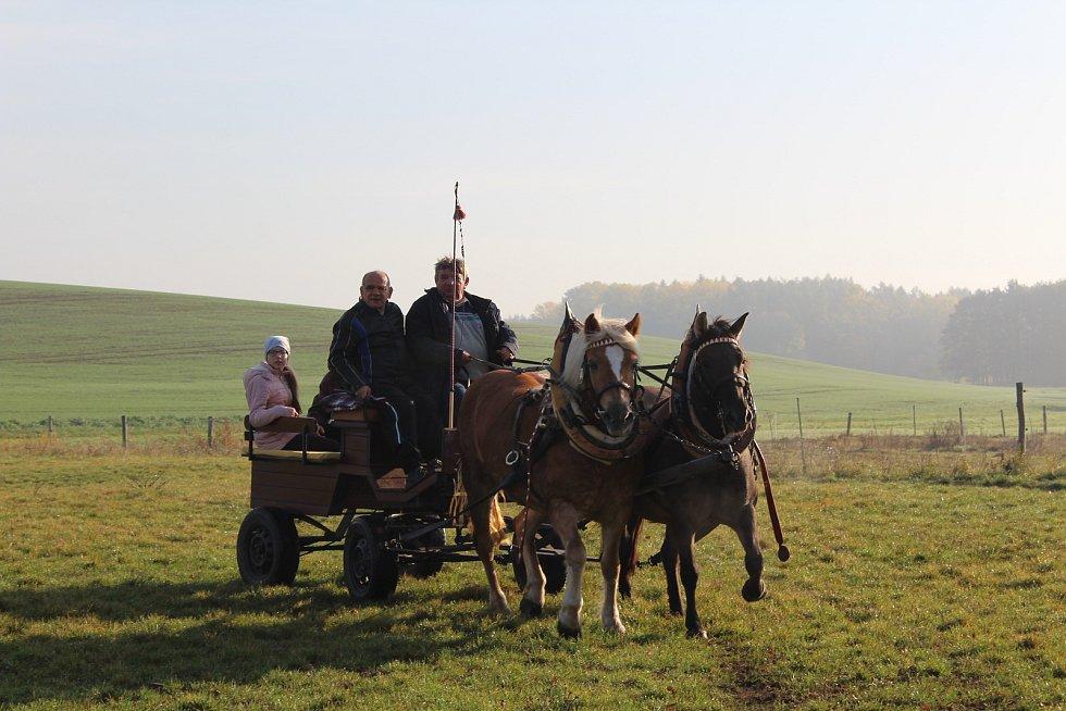 Jezdci se vydali po stopách lišky
