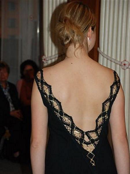 Přehlídka šatů ve Vamberku