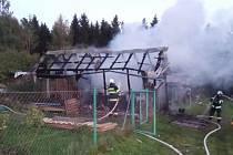 Příčinou vzniku požáru byla nedbalost při manipulaci s uhelnou bruskou. Před 20. hodinou byl požár zlikvidován, na místo dohlížela místní jednotka.