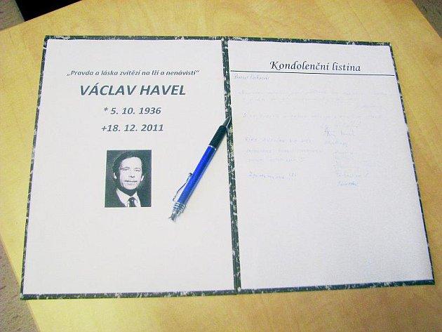 Rozloučení s Václavem Havlem