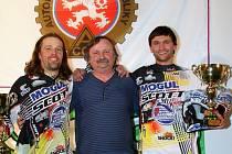 MISTROVSKÝ TITUL v motoskijöringu budou v kvalitní konkurenci obhajovat Josef Mňuk a Filip Langer.