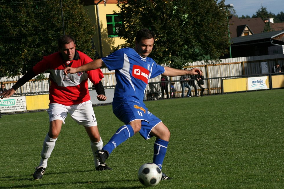 Z utkání Červený Kostelec - Týniště nad Orlicí