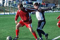 FOTBAL VERSUS SNÍH. Start jarní fotbalové sezony v krajských I. A a I. B třídách se odkládá.