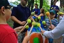 Seykorky oživily park s pomocí netradičních aktivit a disciplín