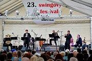 Swingový festival Jardy Marčíka v Týništi nad Orlicí.