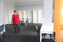 Obec zrekonstruovala prostory pro knihovnu.