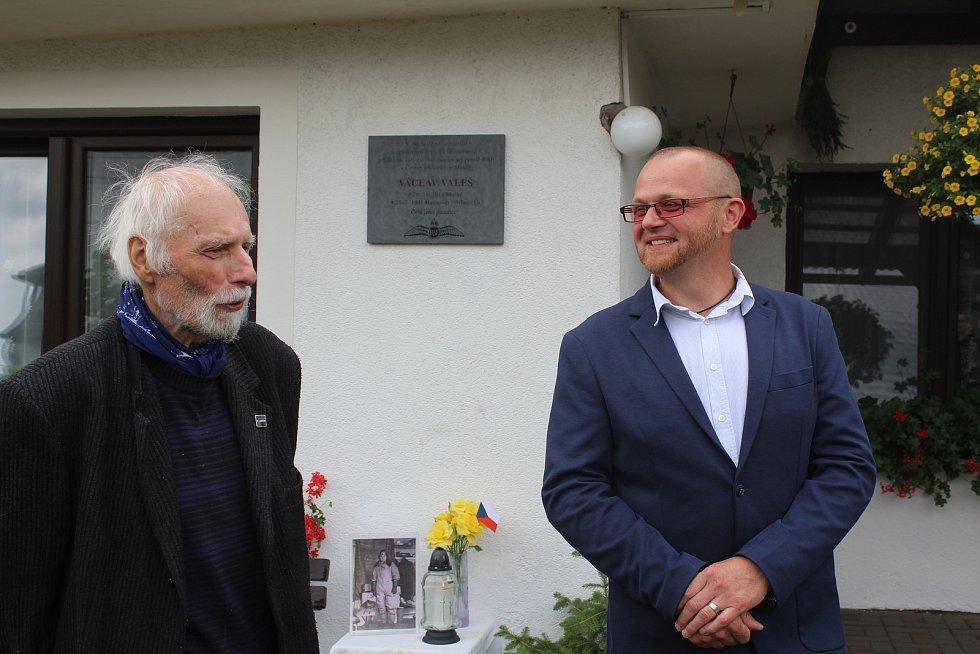Josef Ptáček a Jiří Franc.