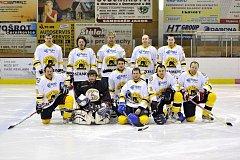 Prvními finalisty letošního ročníku Rychnovské hokejové ligy se stali hráči HC Medvědi Rokytnice. O jejich soupeři se rozhodne v dnešním utkání HC Sršni Záměl – HC Častolovice.