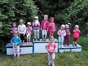 Dětská míle: Na sváteční úterý se dali nejmenší v Opočně do běhu.