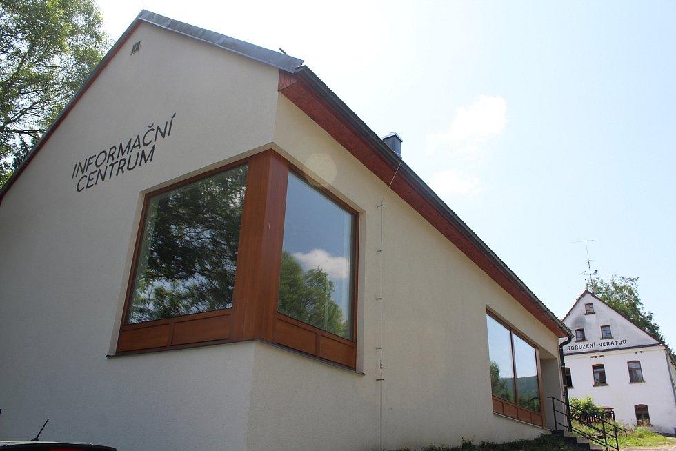 Nové turistické informační centrum provozuje sdružení Neratov.