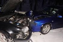 Nehoda v Jedlové v Orlických horách
