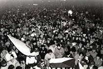 Sametová revoluce v Dobrušce