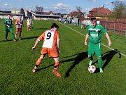 Okresní přebor II. třídy ve fotbale: Borohrádek - Javornice.
