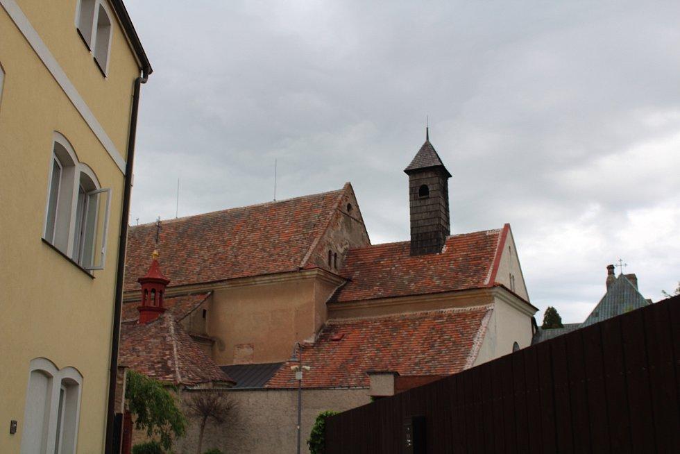 Pohled na klášterní budovy.