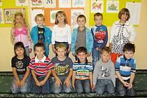 Žáci z 1. třídy základní školy v Pohoří u Dobrušky