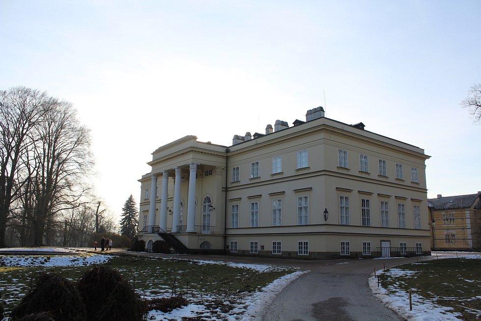 Nový zámek v Kostelci nad Orlicí.