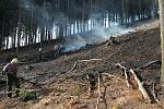 Požár v Dobré Rovné