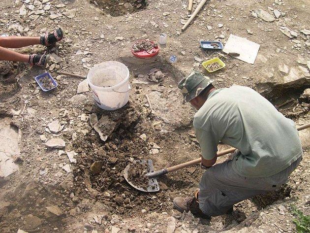 Z vykopávek.