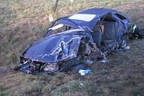 Nehoda na silnici I/11 mezi Týništěm nad Orlicí a Petrovicemi