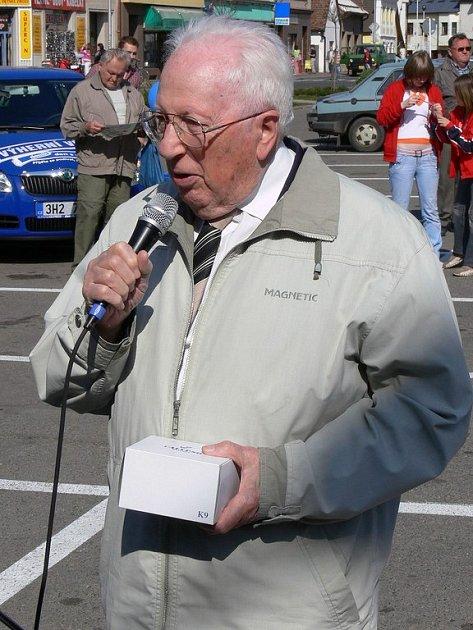 Oslavenec Karel Procházka