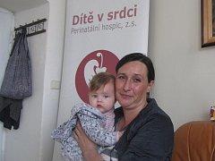 Alena Peremská s dcerou.