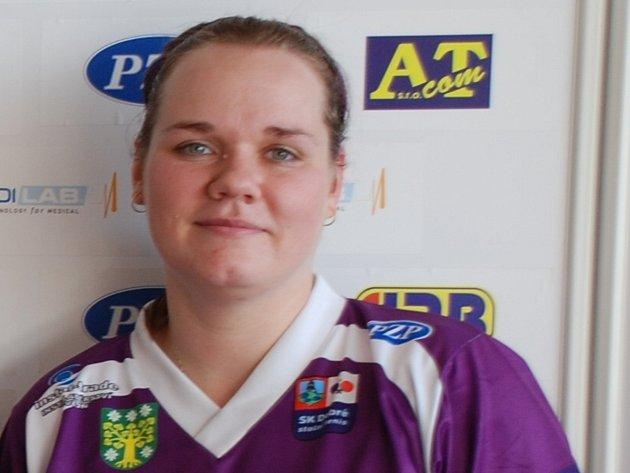 PETRA ŠITINOVÁ se podílela na postupu doberského B-týmu do první ligy.