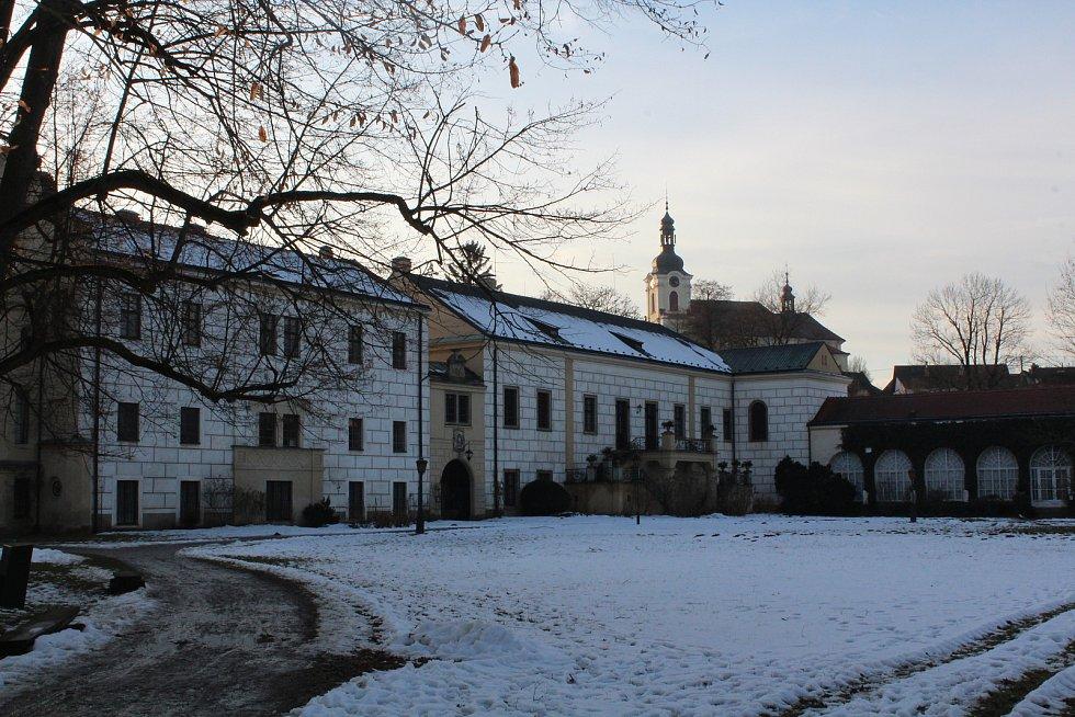 Zámek Častolovice.
