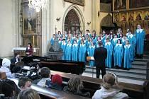 Výchovný koncert Ave Maria pro žáky rychnovských základních škol.