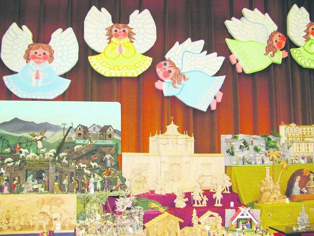 Začíná tradiční výstava betlémů