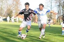 DERBY Křovice – Dobruška C skončilo bez branek, v penaltách uspěli domácí 4:3.