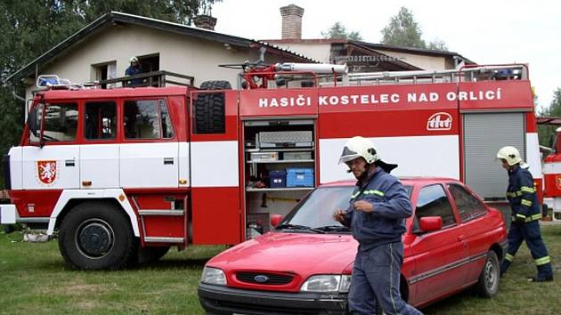 Hasiči zasahovali u Sklenářky.