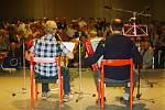Setkání harmonikářů v Rokytnici v Orlických horách