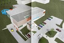 Studie nového sportovního centra